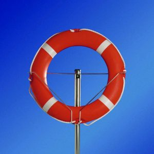 Aro salvamento piscina polietileno