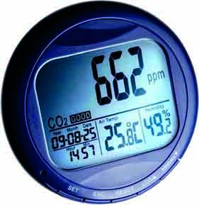 Medidor CO2 - Humedad- Temperatura piscina Wohler