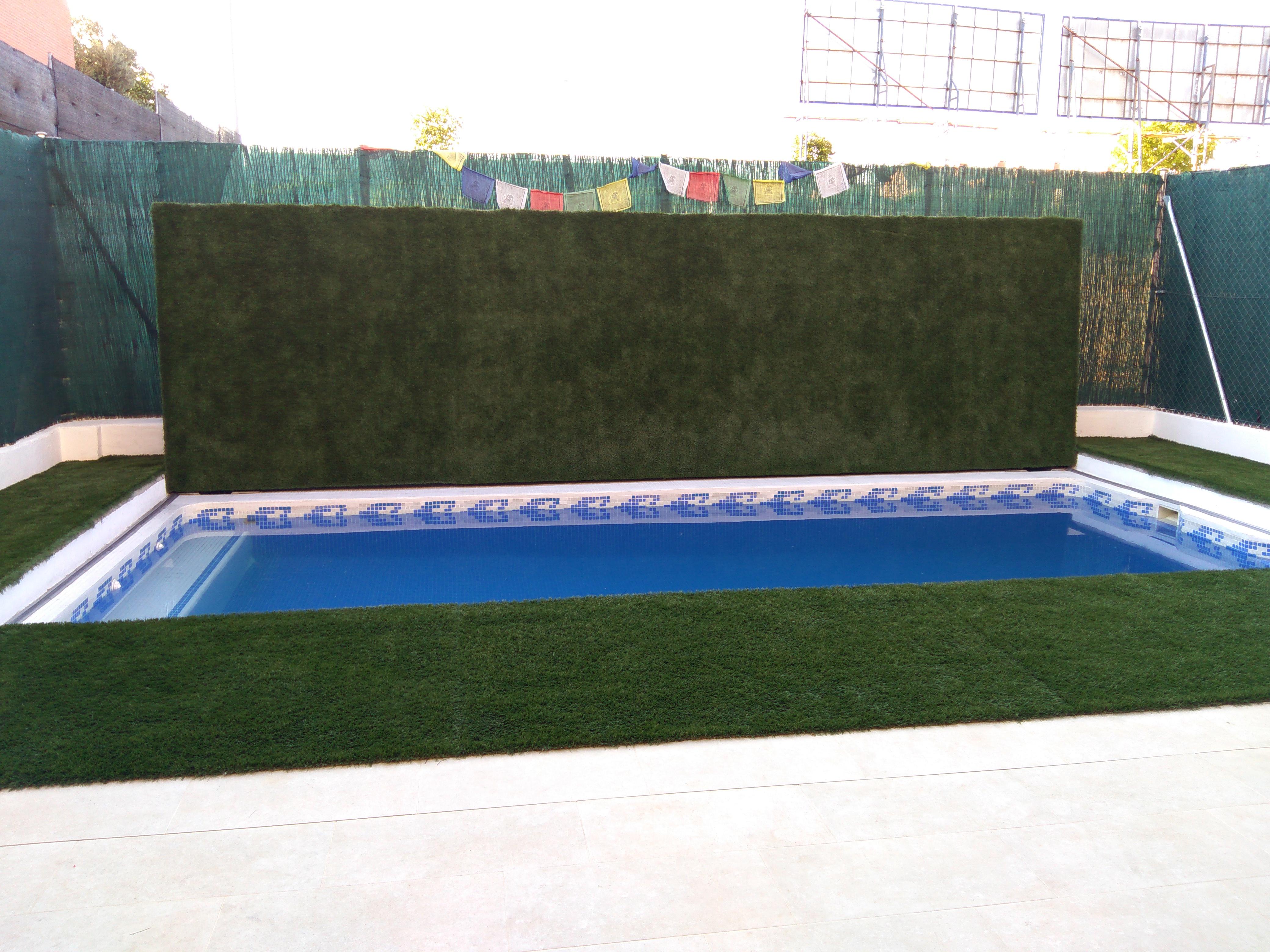 Cubierta piscinas transitable modelo Santorini