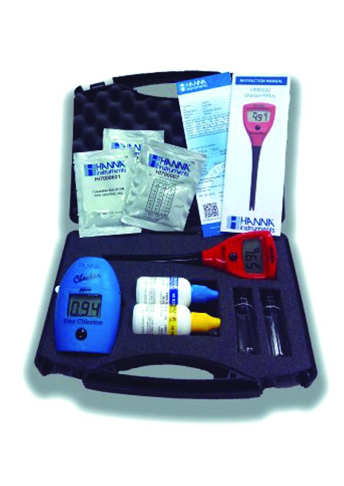 Maletín medición cloro y pH (Maletclph) HI701+HI98100