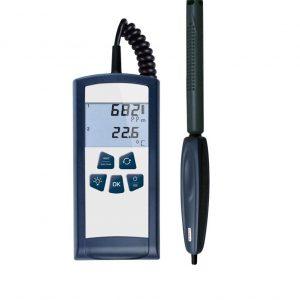 Medidor aire CO2, temperatura y humedad relativa