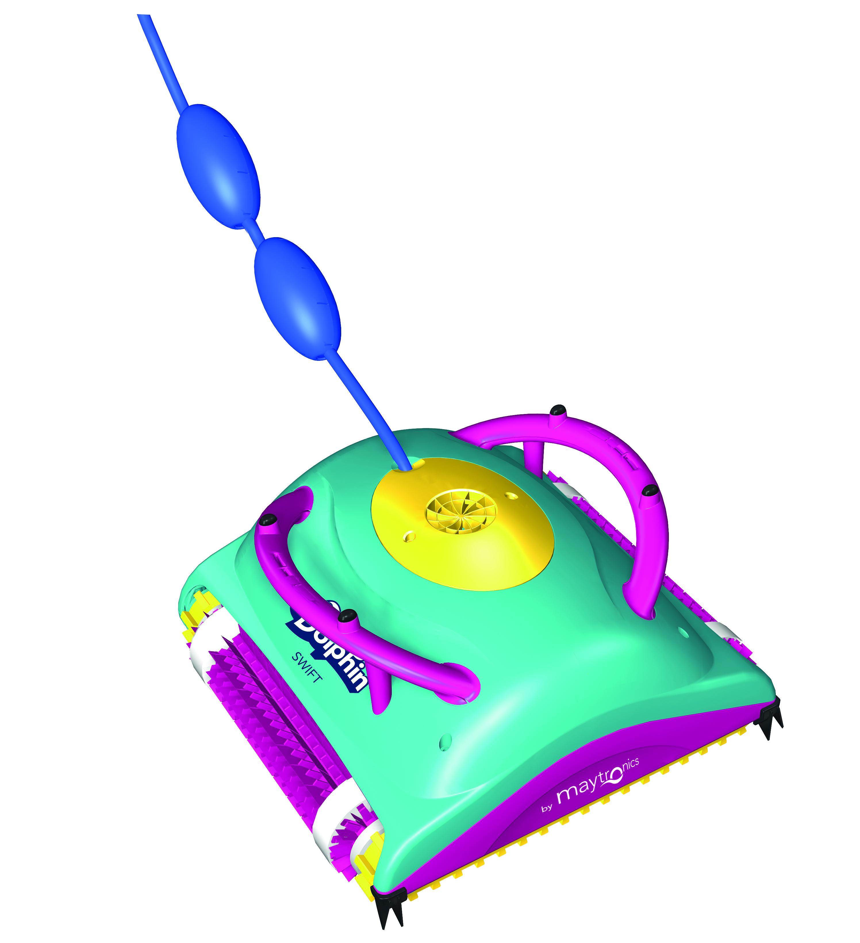 Robot limpiafondos piscina Dolphin Swift