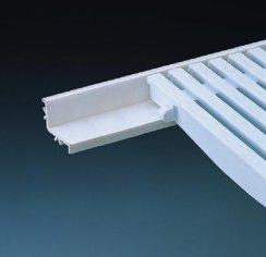 Perfil soporte rejilla piscina