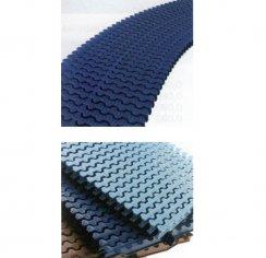 Rejilla rebosadero piscina azul liner unión por acoplamiento