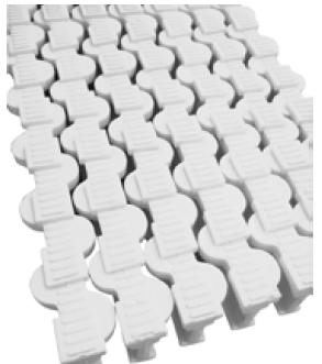 Rejilla antideslizante rebosadero piscina de unión por acoplamiento