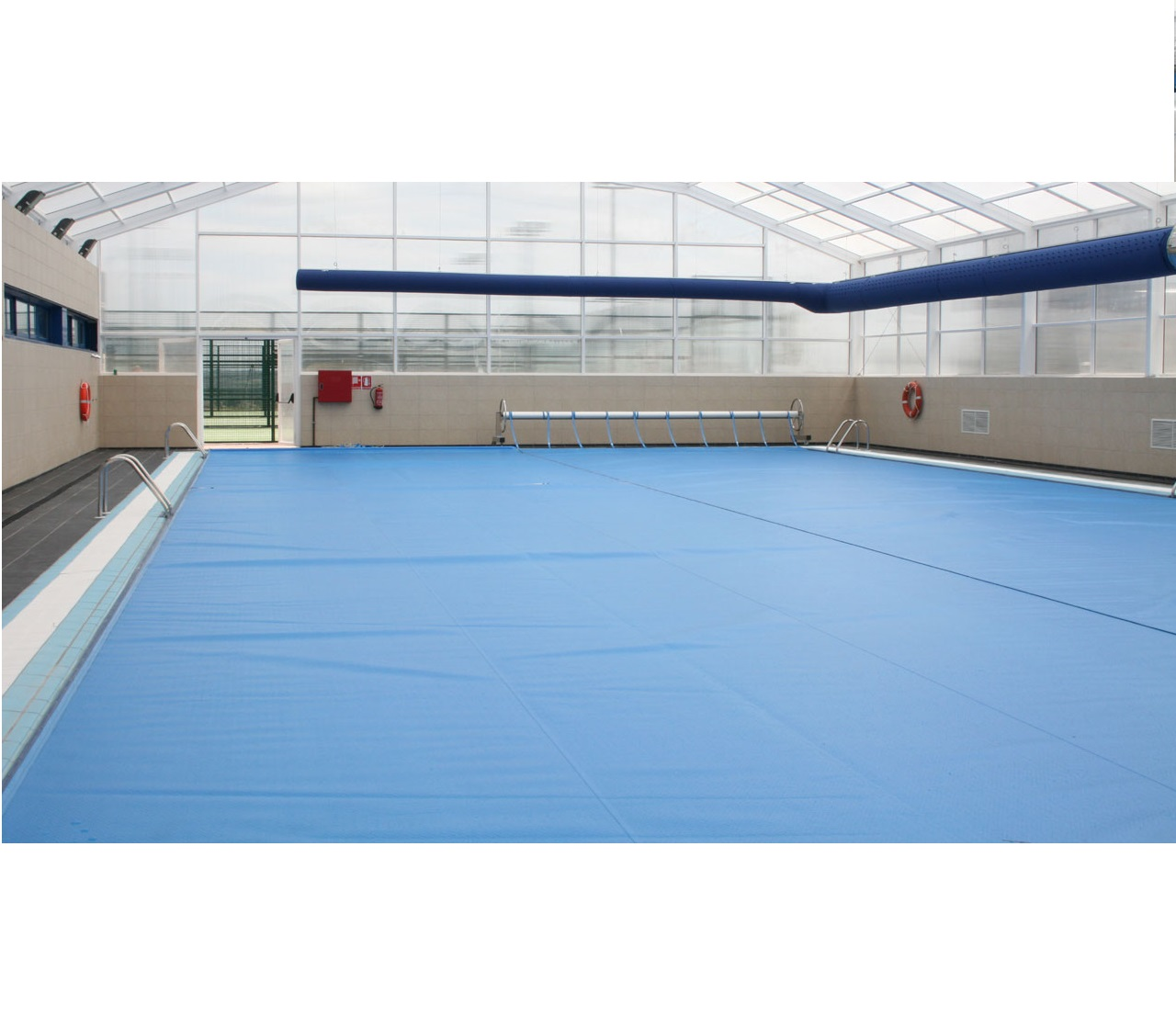 Cobertores térmicos piscina
