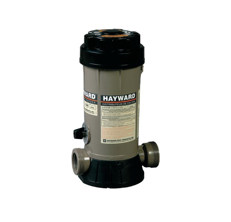 Dosificador piscina automático de cloro y bromo Hayward